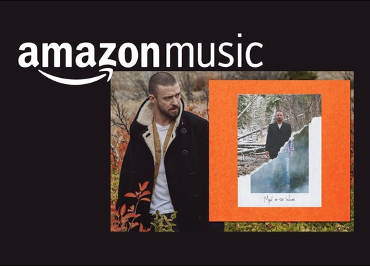 Justin Timberlake Voice-Over Produktion für amazon